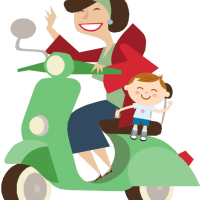 Motorcycles and Motor-scooters: Children Safety