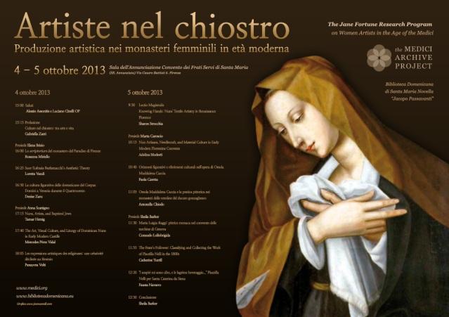 artisteNelChiostro_poster