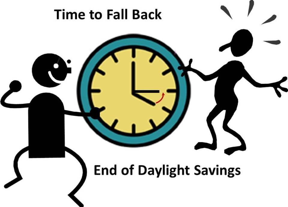 Daylight Savings Ends